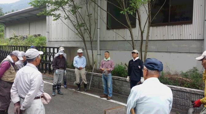 「山野草のエキ」保護活動(6月1日)