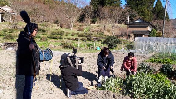 広島からテレビの取材が・・